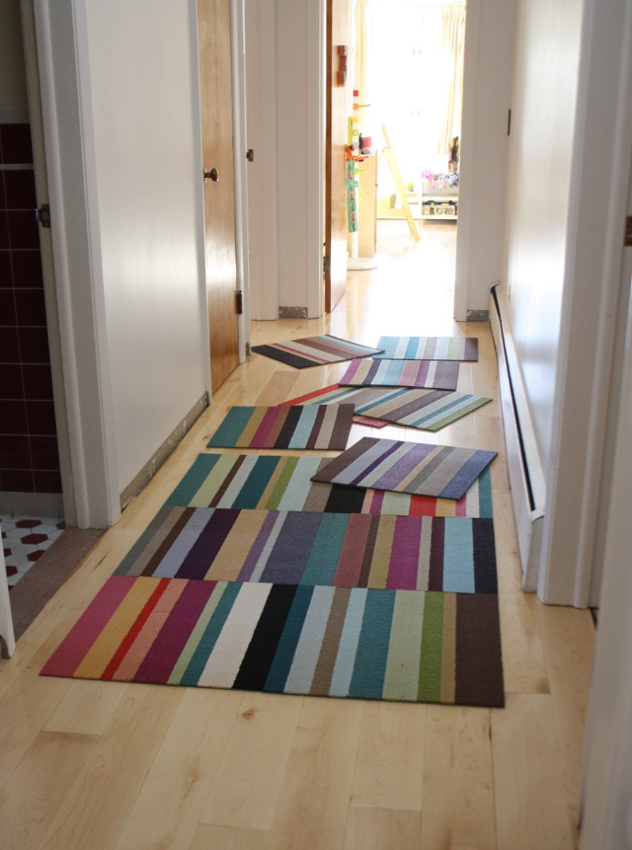 Design Flor Tiles loving flors parallel reality tiles merrypad organizing our new flor carpet as a rainbow runner