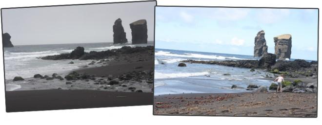 Mosteiros Beach, Sao Miguel, Azores.
