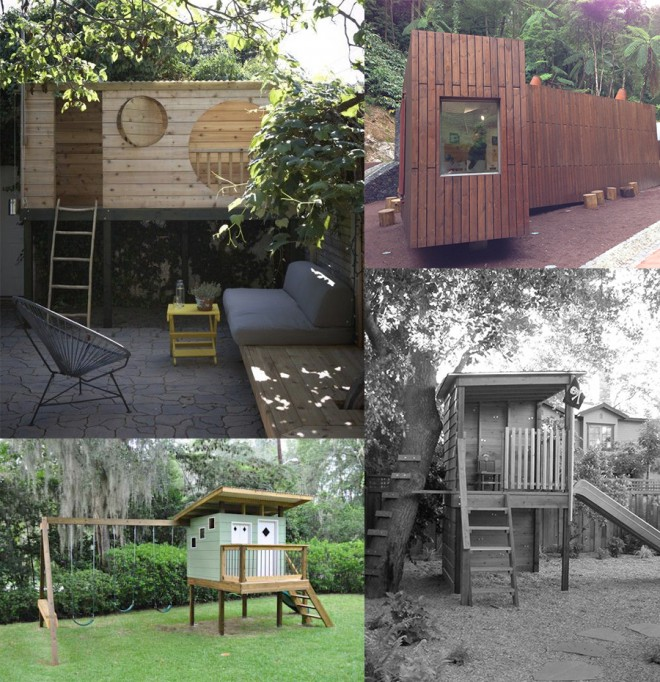 Inspiration for our modern treehouse.