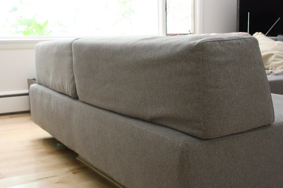 West Elmu0027s Tillary Sectional Has Moveable Back Supports. Check Out My  Review.