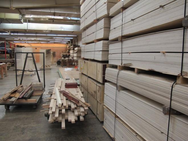 Engineered flooring plywoods.