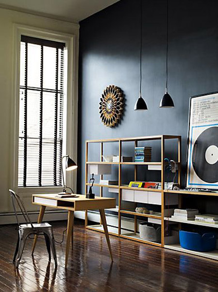Lap Shelving System inspiration from DWR.