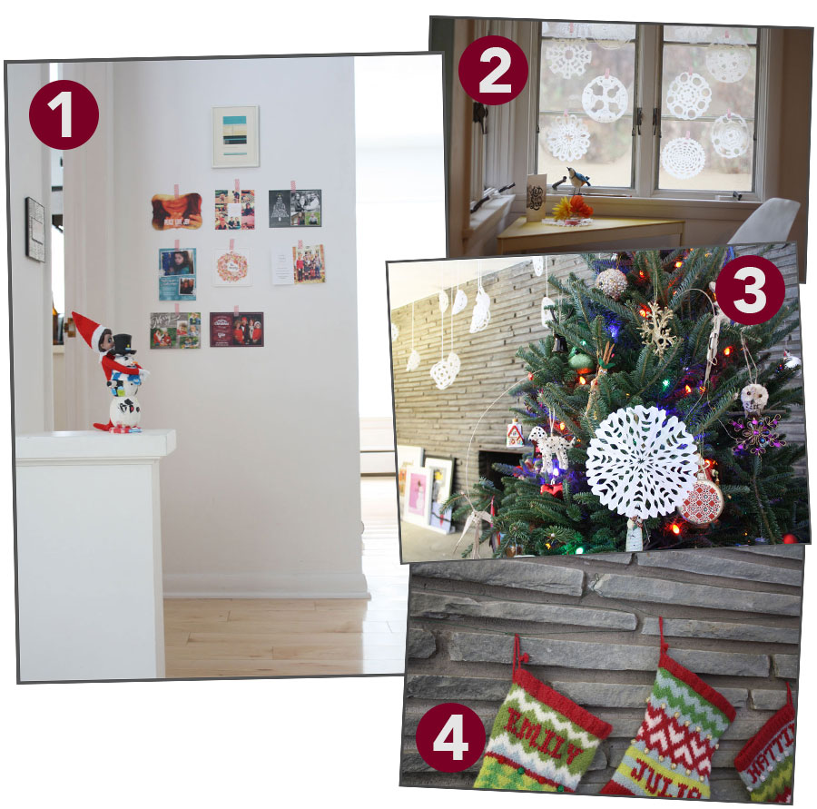 100 christmas decoration at home our heath to your for Home bargains xmas decorations