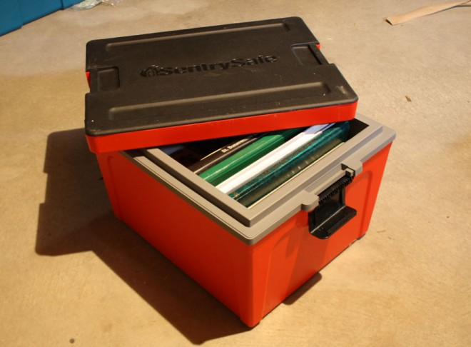 GB20L Sentry Safe Guardian Storage Box.