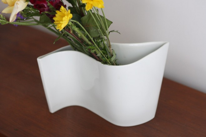 Modern vase design.