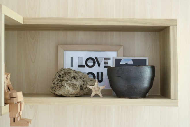 How to make a DIY floating shelf that's L-shaped.
