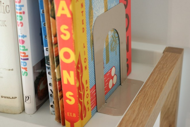 Vintage library bookends.