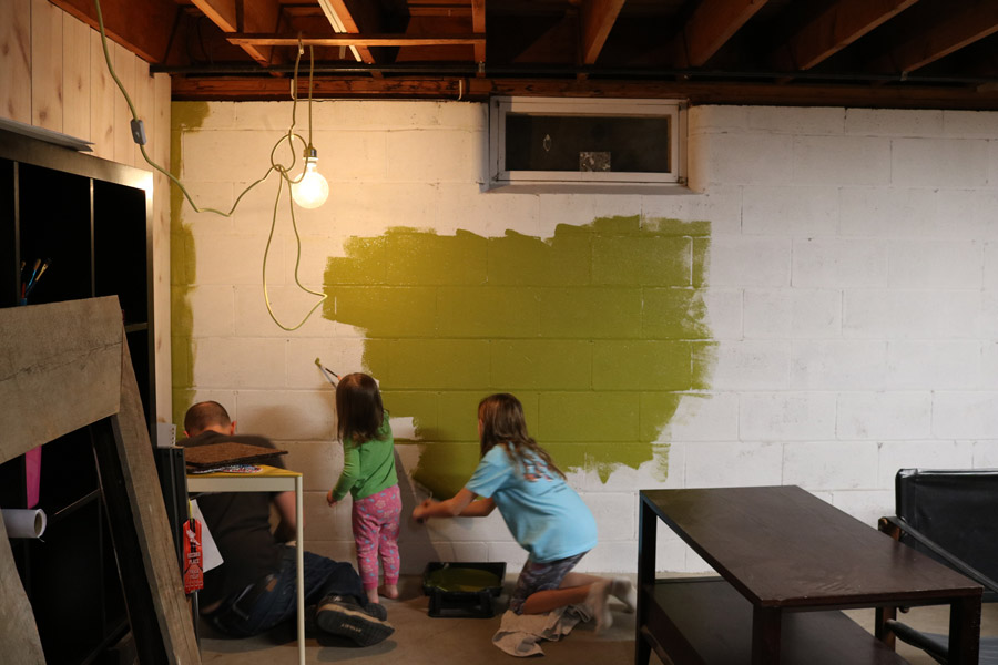 Cute Best Colors For Basement Walls Ideas - Wall Art Design ...