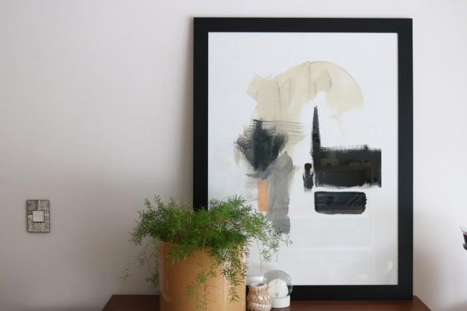 Framed large print by Jaime Derringer.