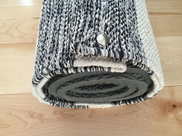 How To Make A Diy Yoga Mat Bag Merrypad