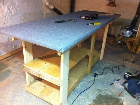 Build a workbench to serve custom storage needs for tools.