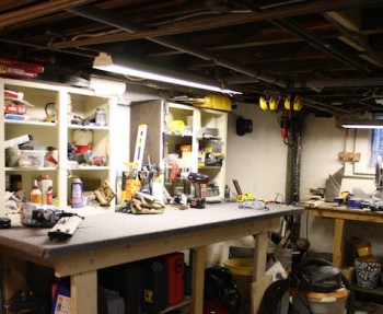 How to customize and organize your basement.