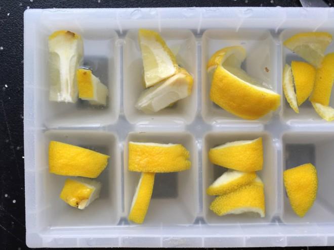 Use lemon to freshen a garbage disposal.