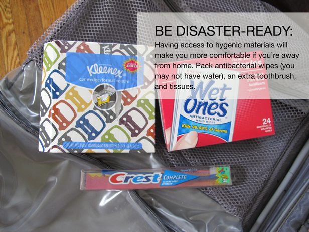 What to pack in your disaster kit to prepare your home and family.