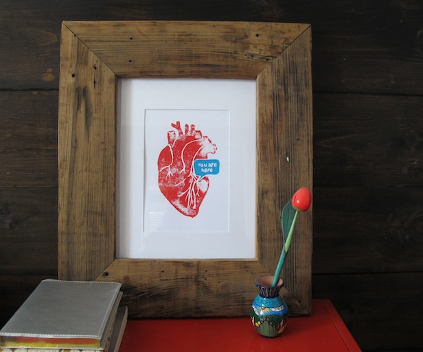 Gift idea: Handmade picture frame