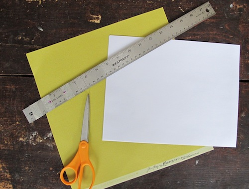 How to make your own wedding guest book.