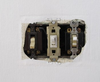 Kitchen switches that need to be updated.