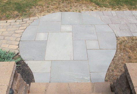 Planning, choosing stones, and planning a flagstone patio.