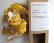 Original Spaghetti Scrub for cleaning dishes.