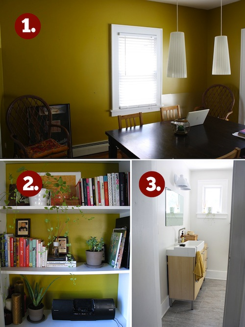 Where should you add stencil details in your home?