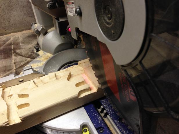 How to make a DIY wood block stamp.