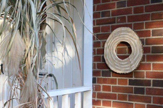 The Easy Way to Hang Art on Brick or Stone | merrypad