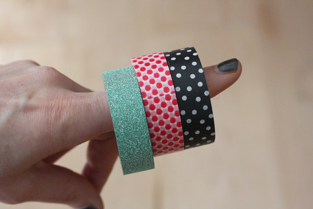 Washi tape craft ideas.
