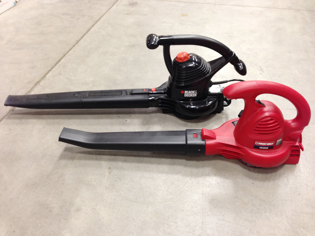 Choosing the right leaf blower for your needs.