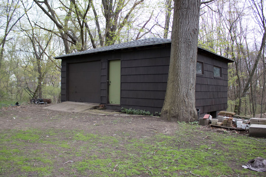 Our barn, a mid-century cedar shingled and semi-abandoned structure receives a facelift.