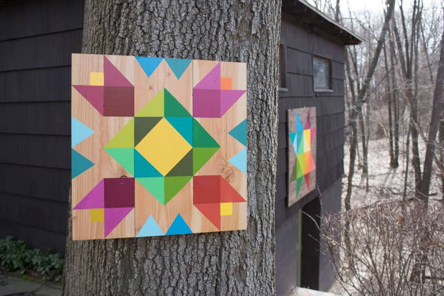 How to make a beautiful, handpainted barn quilt.